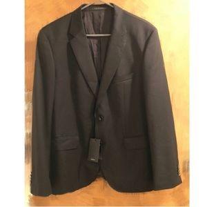 Hugo Boss men's black suit jacket